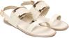 Metallic Accent Slingback Sandals