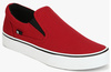 DC Trase Slip-On T Red Loafers