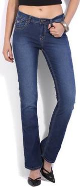 Flying Machine Regular Women's Blue Jeans