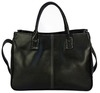 Shimmer Faux Leather Sb006 Black Qu...